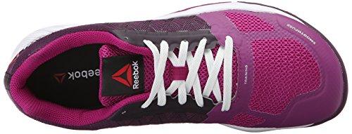 Reebok Women's ROS Workout TR Training Shoe Royal Orchid/Fierce Fuchsia geoB3