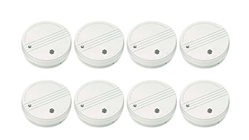 (KIDDE SMOKE DETECTOR WITH TEST BUTTON AND 9-VOLT DC BATTERY 12 PACK)