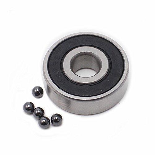 Generic 3x10x4 mm 623-2RSc Hybrid Ceramic Si3N4 Ball Bearing (Pack of 1) by SnowSpitzShop Brand
