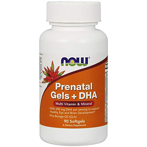 NOW Pre-Natal Multivitamin with DHA,90 Softgels