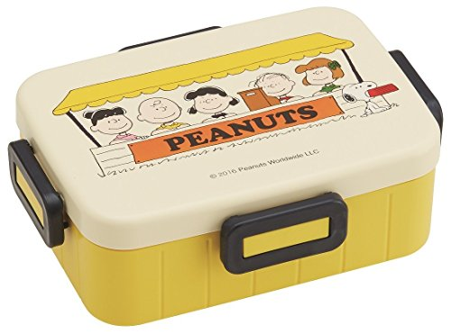 Skater Peanuts Snoopy Lunch Box Lunch Time YZFL7 from Japan