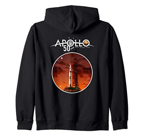 Apollo XI 50th Anniversary Apollo Sunrise Launch Icon Zip Hoodie