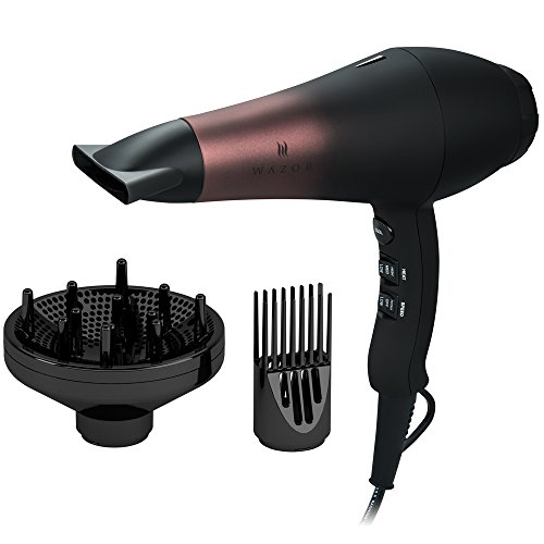 Wazor 1800W Professional Ionic Hair Dryer Far Infrared Dryer Powerful Salon...