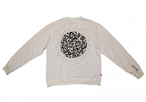 Cleptomanicx Skateboard Pullover Trance Disko Black/White Sweater