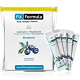 FitFormula's Blueberry-Flavored Calcium + Vitamin D For Sale