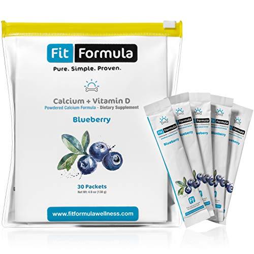 FitFormula's Blueberry-Flavored Calcium + Vitamin D