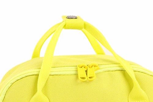 HotStyle Bestie Mochila mujer 14L - Bolsa para pañales impermeable - Verde D141W, Amarillo Limón