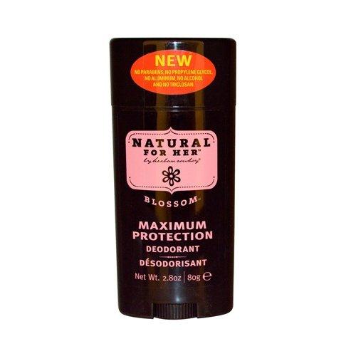 Herban Cowboy Deodorant Blossom Scent 2.8oz (Pack of 2)