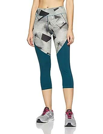 Adidas Women's Ult C and S Pr 3/4 Tights, Multi-Colour/Petnoc/Print, Medium (BR6783)