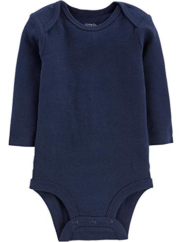 Large Product Image of Simple Joys by Carter's Baby Boys' 5-Pack Long-Sleeve Bodysuit
