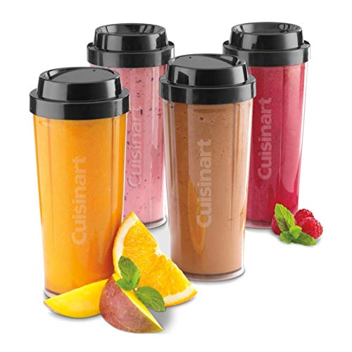 Cuisinart CTC-16 Blender Accessories Includes Four Travel Cups (Cpb300 Blender Cuisinart)