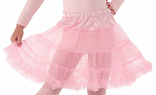 Forum Novelties Child Size Pink Crinoline Petticoat Tutu Skirt -
