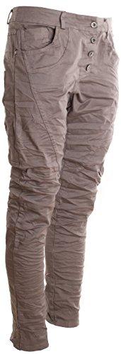 Basic Camicia Taupe de Uni Donna qfYrXqUWS