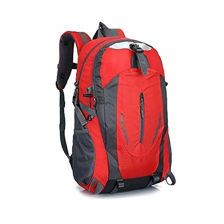 PerGrate Sac à dos sport, 40L imperméable à l'eau en nylon Packable sacs à dos, unisexe durable sac pratique pour les voyages et les sports de plein air randonnée Camping