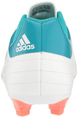 adidas Frauen Goletto VI FG W Fußballschuh Weiß / Energy Blue Einfache Koralle S