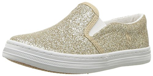 Polo Ralph Lauren Kids Girls' Benton II Sneaker, Gold Glitter, 6 Medium US - Lauren Us Ralph Polo By