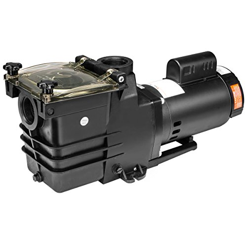 "XtremepowerUS 1.5HP Swimming Pool Pump Motor Spa Large Strainer Basket Above In-Ground 115/230v Super Flow 2"" NPT"