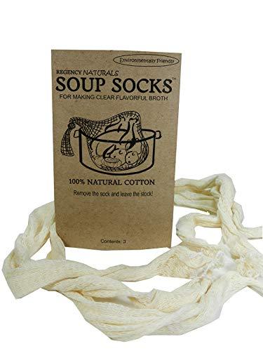 - Regency Natural Soup Socks for Making Soup Stock set of 3