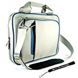 Blue/Gray Shoulder Carrying Case for Apple iPad Tablet WiFi + 3G Models