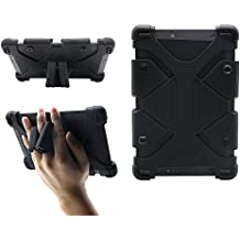"""Universal 8 inch Tablet Case, Shockproof Silicone Protective Cover 7.9""""-9"""" with Stand for Alcatel A30 Tablet, LG G Pad X2 8.0 Plus, iPad Mini 1/2/3/4, Kindle Fire HD 7/HD 8/HDX, Samsung A 8 and more"""