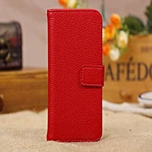 RC - Luxury Alligator Pattern Wallet Case Wallet Leather Case for iPhone 5C(Assorted Colors) , Black
