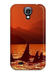 Keyi chrissy Rice's Shop 4238550K52192288 Tpu Case Skin Protector For Galaxy S4 Whale With Nice Appearance