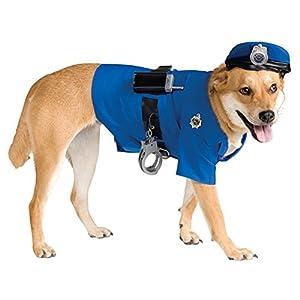 Rubie's Police Dog Pet Costume, Large