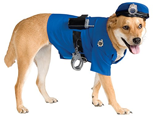 Rubie's Police Dog Pet Costume