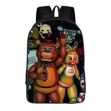 Amazon.com | Ewings Five Nights At Freddys FNAF Backpack ...