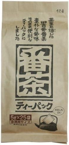 寿老園 番茶ティーパック 5g×25袋×5袋