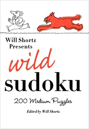 best will shortz sudoku books