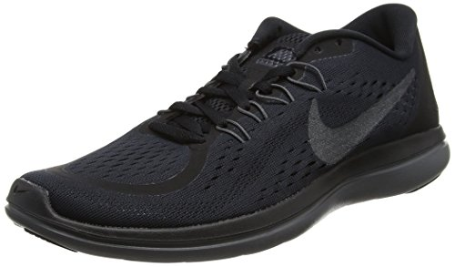 Nike Men's Flex Rn 2017 Running Shoe Blackmetallic Hematiteanthracitedark Grey Size 11.5 M Us