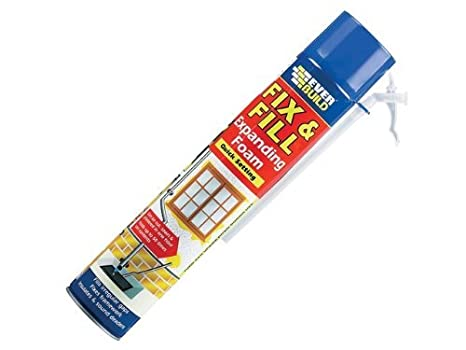 2xEverbuild EVFF7 Fix and Fill Expanding Foam Filler 750ml