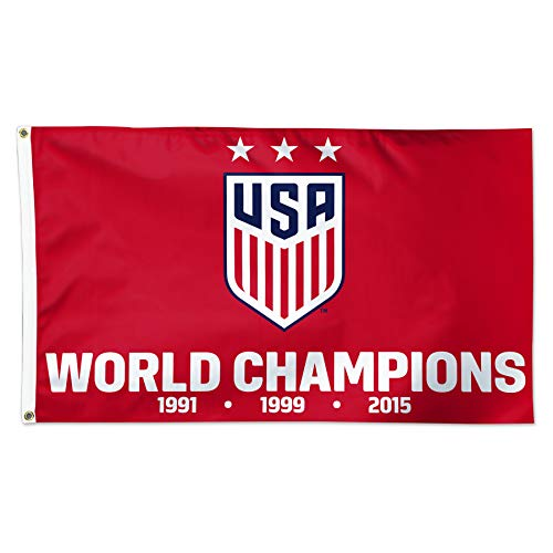 USA Women's Soccer Team | Licensed Flag 2019 | 5 x 3 ft