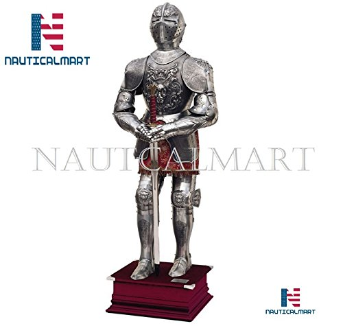 Amazon.com: Nauticalmart Carlos V traje de Armor – Alivio de ...