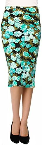 Reg and Plus Size Pencil Skirts for Women Below The Knee Work,Weekends,Date Nights,Sexy Office Business Bodycon Skirts