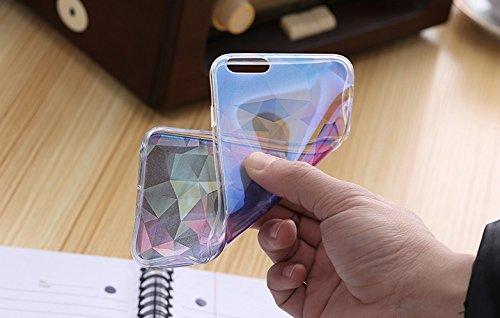 Blue Transparent TPU Case für iPhone 6/6S