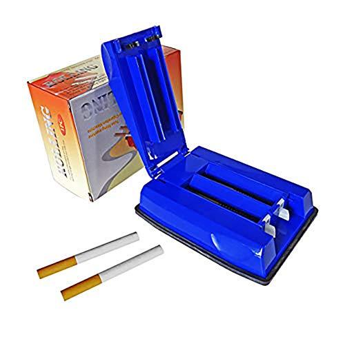 Double Cigarettes Pour Rouler Triple La De Pères À Injecteur Cadeau Des Machine 1 Tabac Pack Idéal Cigarettes Fête T4n6x5g