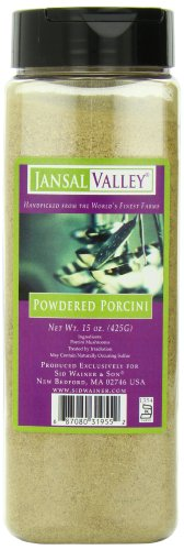 Jansal Valley Powdered Porcini, 15 Ounce