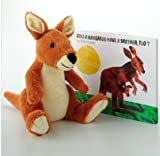 "Eric Carle Does a Kangaroo Have a Mother Too? Book & Plush Toy 11"" (Bundle) (Kohl's Cares)"