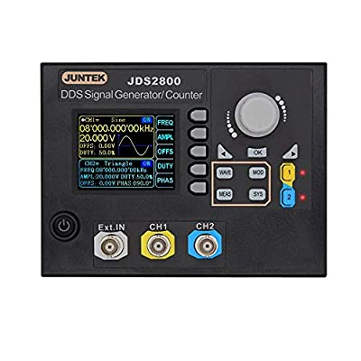 Onepeak JDS2800-60M 60MHZ Digital Dual-Channel DDS Function Signal Generator Arbitrary Waveform Pulse Signal Generator