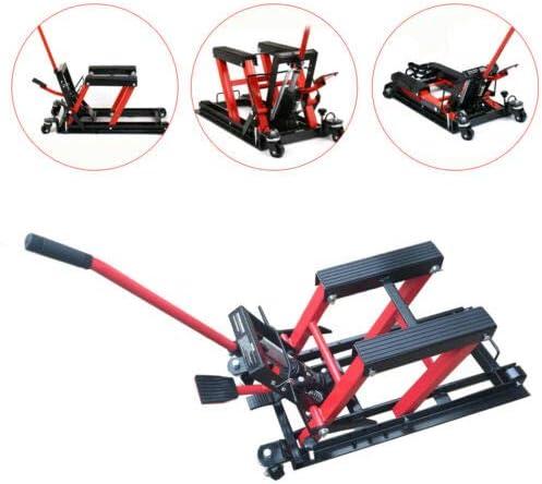 Kaibrite Hebeb/ühne f/ür Motorr/äder Tragf/ähigkeit Bis zu 680 kg Motorrad-Hydraulikzylinder.