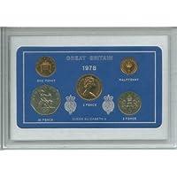 1978 GB Great Britain British Coin Birth Year Vintage Retro Gift Set (40th Birthday Present or Ruby Wedding Anniversary)