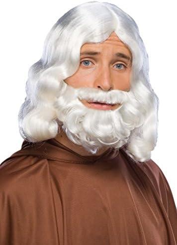 Rubies Mens Biblical Beard Wig