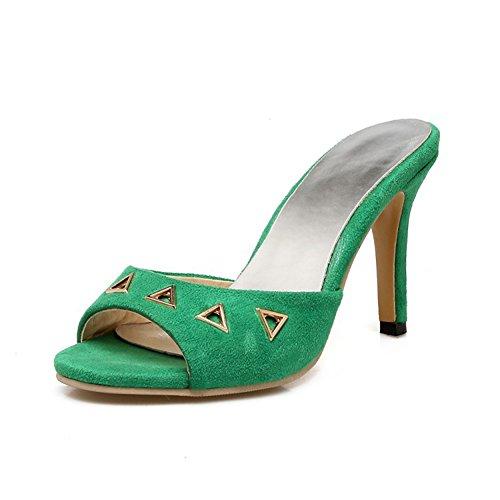 Peep Toe Casual Slip - 5
