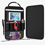 Greenleaf Car Backseat Organizer for Kids, Durable Back Seat Protector with Multiple Pockets for Storage - iPad or Tablet Holder - Great for Vehicle Travel Accessories