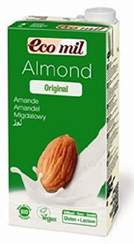 Ecomil Organic Almond Drink with Agave 1Ltr (Pack of 6) by Ecomil