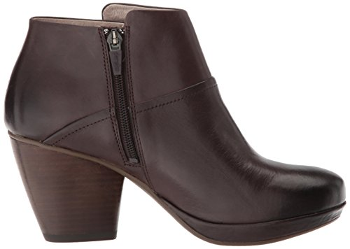 Ankle Miley Women's Boot Calf Burnished Chocolate Dansko E7qZwx0x