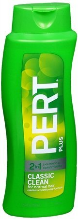 Pert Plus 2-in-1 Shampoo + Conditioner, Classic Clean for Normal Hair, 40 Oz