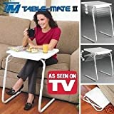 NEW TABLE MATE ll PORTABLE ADJUSTABLE FOLDING TABLE, LOUNGE, BEDROOM FURNITURE by WHOSAVE